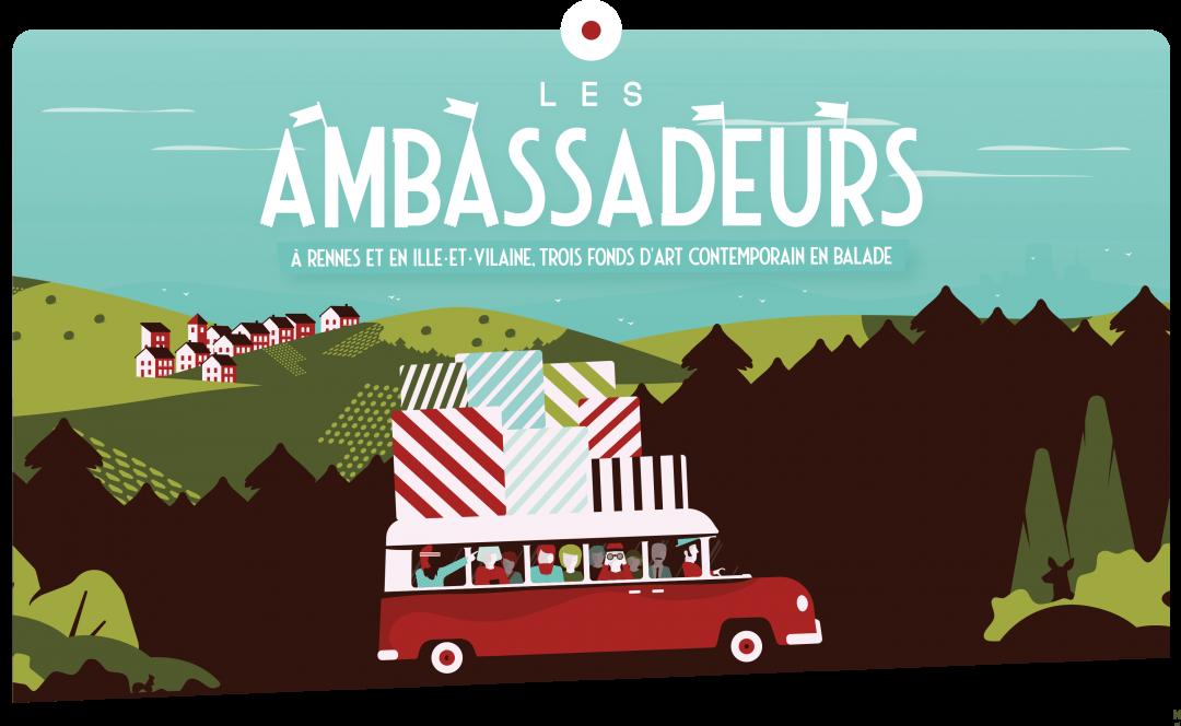 Visuel affiche Les Ambassadeurs © Maxime Le Clanche
