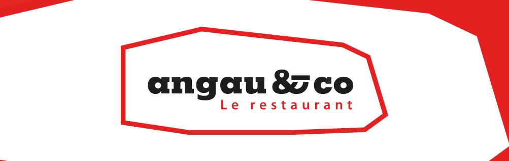 Header logo restaurant Angau & co
