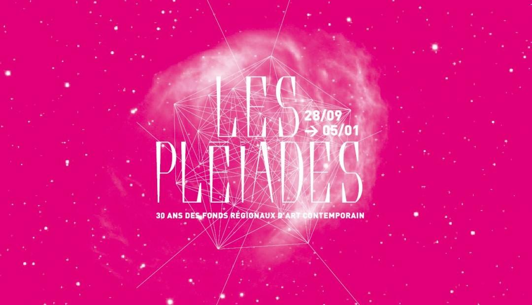Visuel de l'exposition Les Pléiades, Les Abattoirs, Toulouse, à l'occasion des 30 ans des Frac