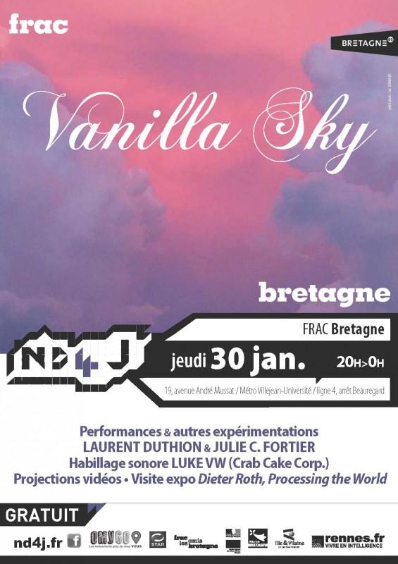 La Nuit des 4 jeudis au Frac Bretagne le 30 janvier 2014