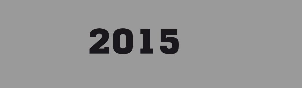 Programmation 2015 dans les murs Frac Bretagne