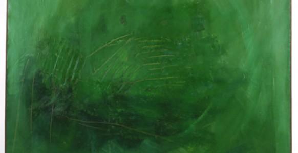 Tal-Coat, Le vert dans l'abrupt, 1962-1964, Collection Frac Bretagne © ADAGP, Paris,