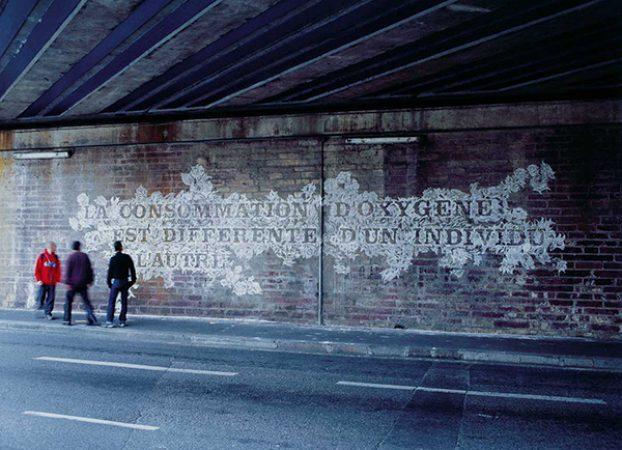 Jocelyn Cottencin, La consommation d'oxygène est différente d'un individu à l'autre, 2004, collection Frac Bretagne © Jocelyn Cottencin