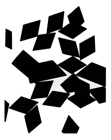 James Welling, Tile Photograph 4, 1985, Collection Frac Bretagne © Droits réservés - Crédit photo : Galerie Philip Nelson