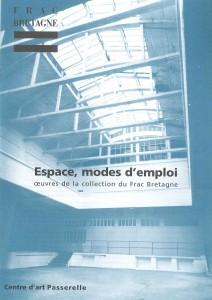 Espace, modes d'emploi