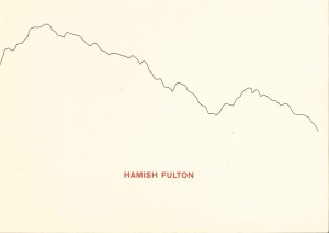 Hamish Fulton A record of past walks in existing landscapes