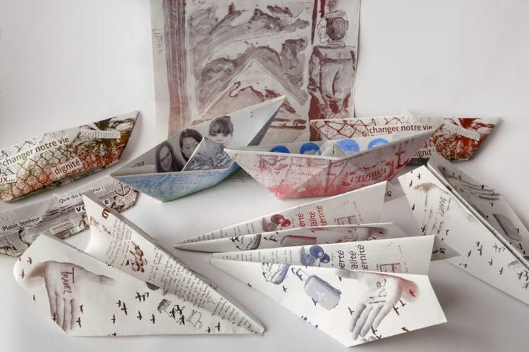Atelier de pratiques artistiques Complètement zin(e) zin(e) avec Julien Duporté pour les 14-17 ans, réalisé en 2013 dans le cadre du dispositif national Les Portes du temps, en partenariat avec le Musée de Bretagne