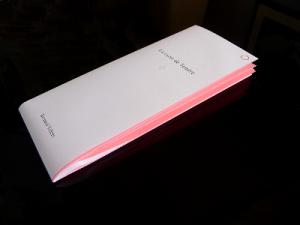 Bernard Villers La carte de Tendre 2009 Coédition Incertain Sens, Frac Bretagne