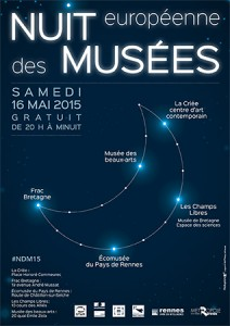 Nuit européenne des musées 2015 à Rennes @ Frac Bretagne | Rennes | Bretagne | France
