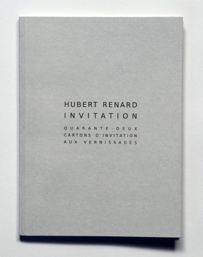 Hubert Renard Invitation