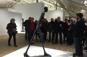 l'homme qui marche de Alberto Giacometti