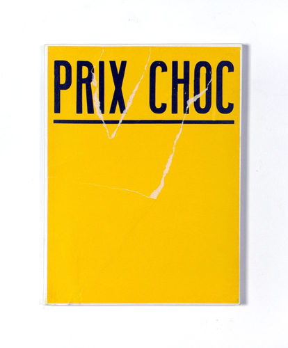 Gilles MAHE, Prix choc (82), 1995 © Michèle Mahé, Droits Réservés