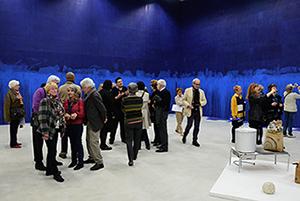 Visite de l'exposition inaugurale