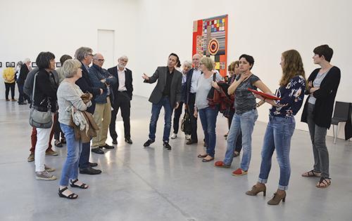 Visite en avant-première de l'exposition