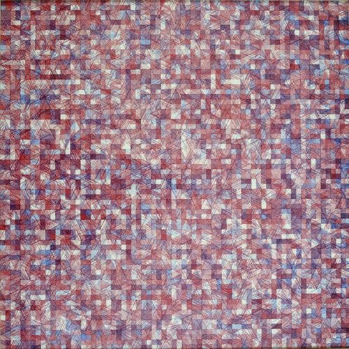 Vera Molnar, A la recherche de Paul Klee, 1970 Collection Frac Bretagne © ADAGP, Paris 2015 Crédit photo : Hervé Beurel