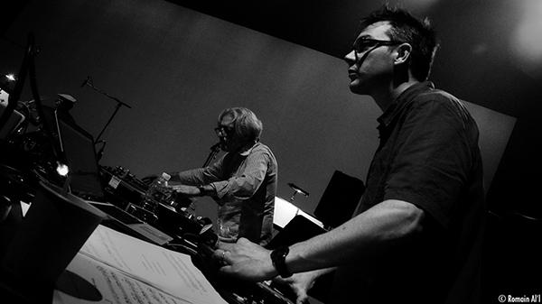 Lou Mallozzi et Vincent Raude. Photo : Romain Al'l