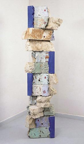 Bernard Pagès, Arête discontinue, 1983-1984, collection Frac Bretagne © Bernard Pagès