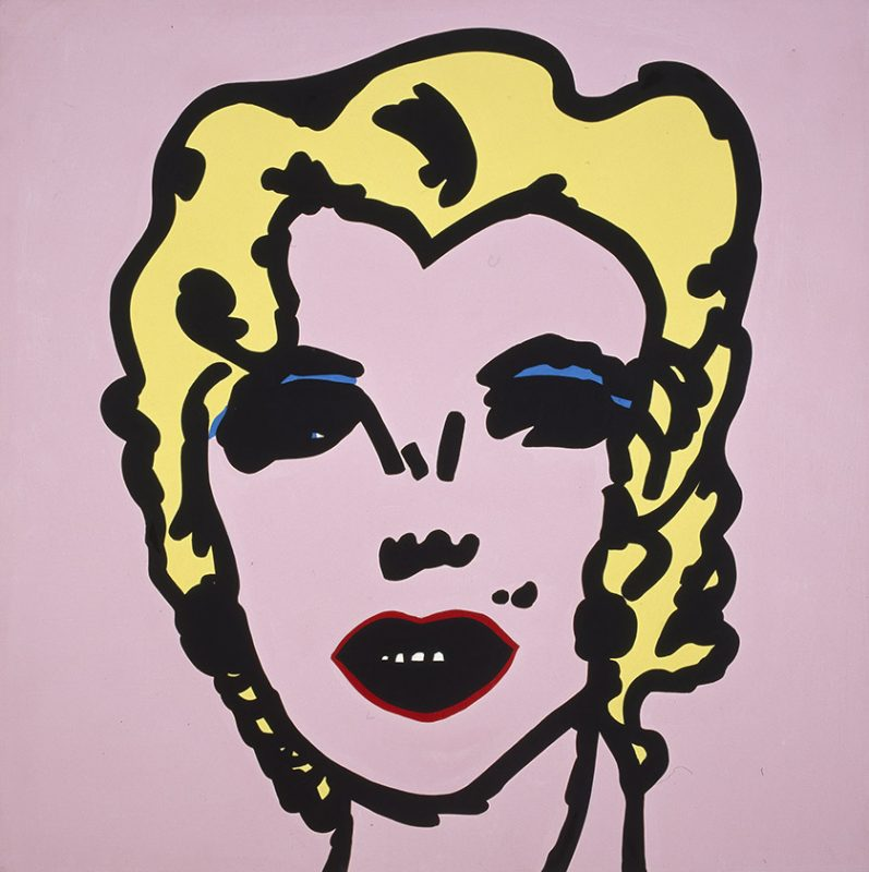 Jean-Philippe Lemée, Nos Marilyns, 1990, collection Frac Bretagne © Jean-Philippe Lemée