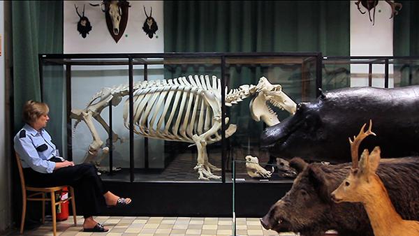Magda Kulak, Natural History Museum, Lodz 2013 © Harun Farocki Filmproduktion