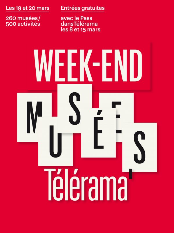 Week-end des musées Télérama 2017