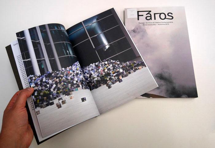 Vue de la publication périodique Faros, Éditions ITHAAC