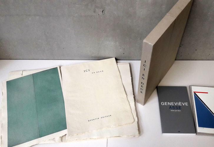 Sélection d'ouvrages du fonds documentaire Geneviève Asse du service documentation du Frac Bretagne, Rennes