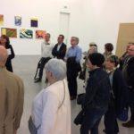 29/03/2019 | Visite de l'exposition Collection. La composante Peintures dédiée à Les Amis du Frac Bretagne - Crédit photo : H. Pacallet