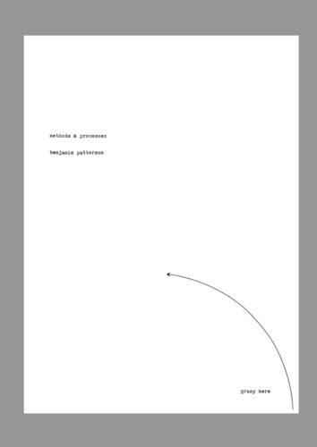 Benjamin Patterson. Methods & Processes [1962]