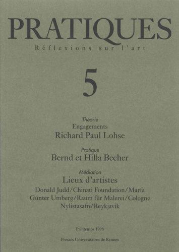Pratiques : Réflexions sur l'Art, N°5, Printemps 1998