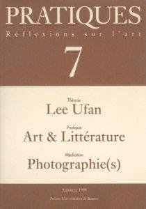 Pratiques : Réflexions sur l'Art, N°7, Automne 1999