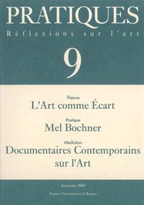 Pratiques : Réflexions sur l'Art, N°9, Automne 2000