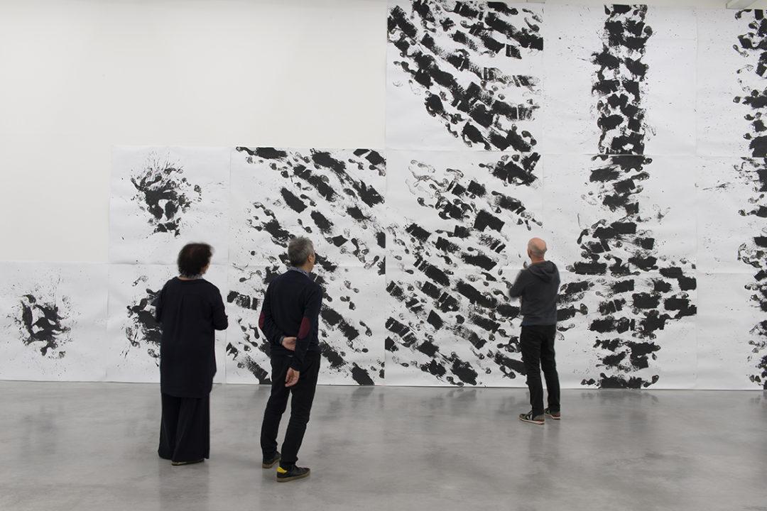 Vue de l'exposition Marcel Dinahet Sous le vent, présentée à Rennes du 14 juin au 10 novembre 2019. Crédit photo : Marc Domage