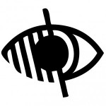 Pictogramme handicap visuel