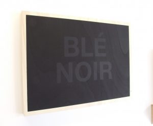 Pascal Rivet - Blé noir - 2016