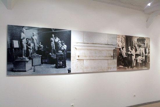 Vue de l'œuvre de Sharon Kivland, Mes Semblances, 2003-2009 - Collection Frac Bretagne - Photo : Droits réservés