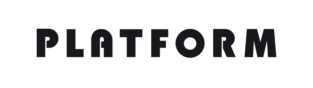Logo Platform, Regroupement des Fonds régionaux d'art contemporain