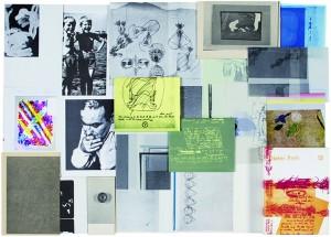 Dieter Roth, Collected Works, Volume 12 : Copley Book (version augmentée de l'édition publiée par la Fondation Copley, Chicago, 1965), 1974, crédit photo : Marc Plantec © Dieter Roth Estate