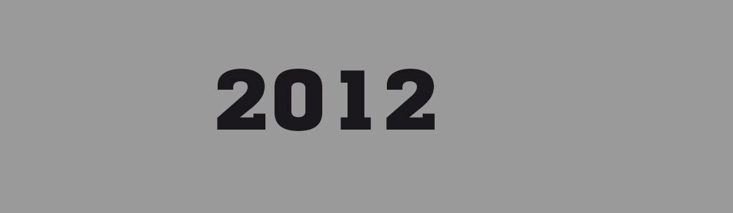 Rubrique Presse 2012, programmation dans les murs du Frac Bretagne