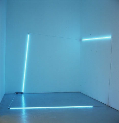 François Morellet, Cube 5°-95°, collection Frac Bretagne © ADAGP, Paris