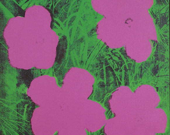 Elaine Sturtevant, Warhol Flower, 1964-1965 Collection Frac Bretagne © Droits réservés Crédit photo : Frac Bretagne