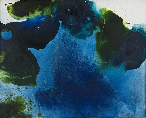 Marcelle Loubchansky, Fleurs d'eau, 1961, collection Frac Bretagne © Marcelle Loubchansky