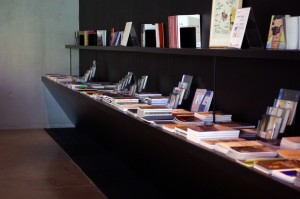 L'espace librairie du Frac Bretagne, Rennes