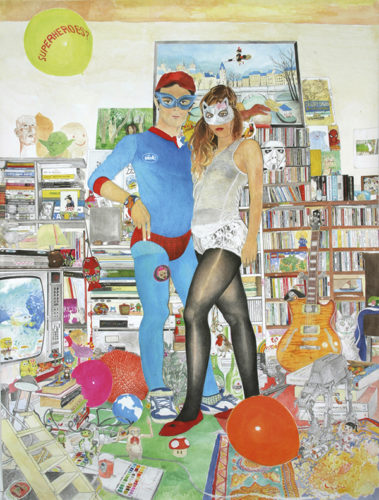 Camille Girard et Paul Brunet, Superheroes, 2010 - Fonds départemental d'art contemporain d'Ille-et-Vilaine