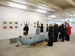 Visite de l'exposition Manisfestes, Centre d'art Passerelle, Brest