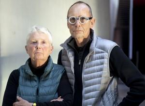 Anne et Patrick Poirier, crédit photo : Frac Bretagne