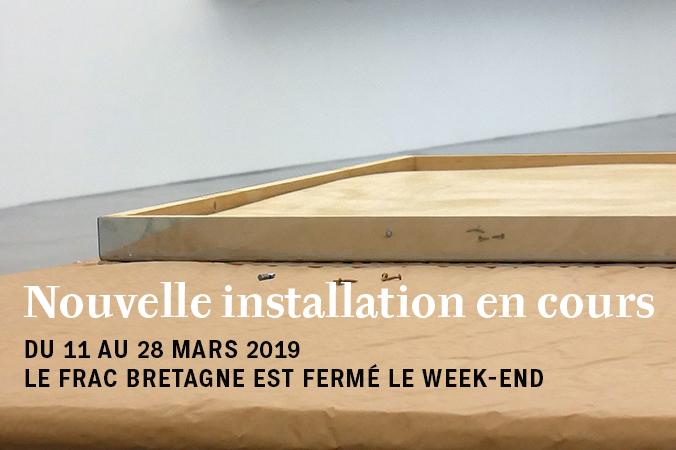 Période inter-expositions dans les murs du 11 au 28 mars 2019