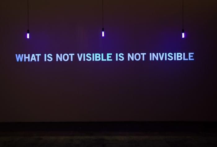 Julien Discrit, What is not visible is not invisible, 2008, collection 49 Nord 6 Est Frac Lorraine Metz