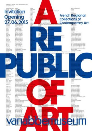 Visuel A Republic of Art © Platform/Vanabbemuseum