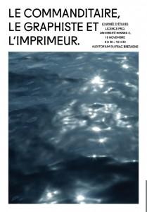 Le commanditaire, le graphiste et l'imprimeur  @ Frac Bretagne | Rennes | Bretagne | France