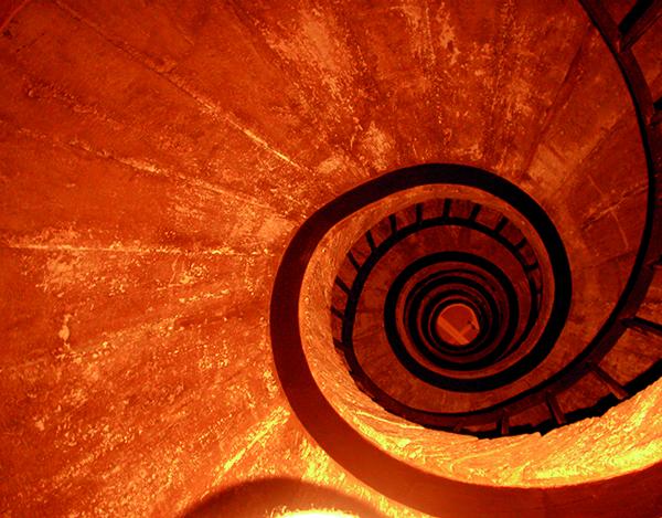 Isabelle Arthuis, Sagrada Familia, Barcelone, de la série Living Colors part IV, 2008 Collection Frac Bretagne © Isabelle Arthuis